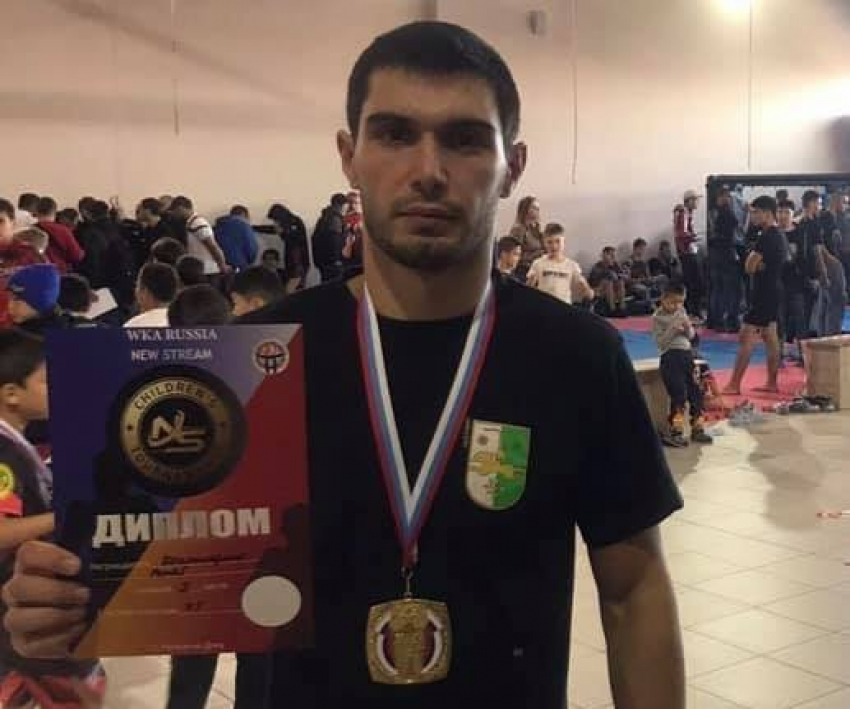 Ренат Кокоскерия победил в турнире «New stream» по спортивной борьбе в Ростове
