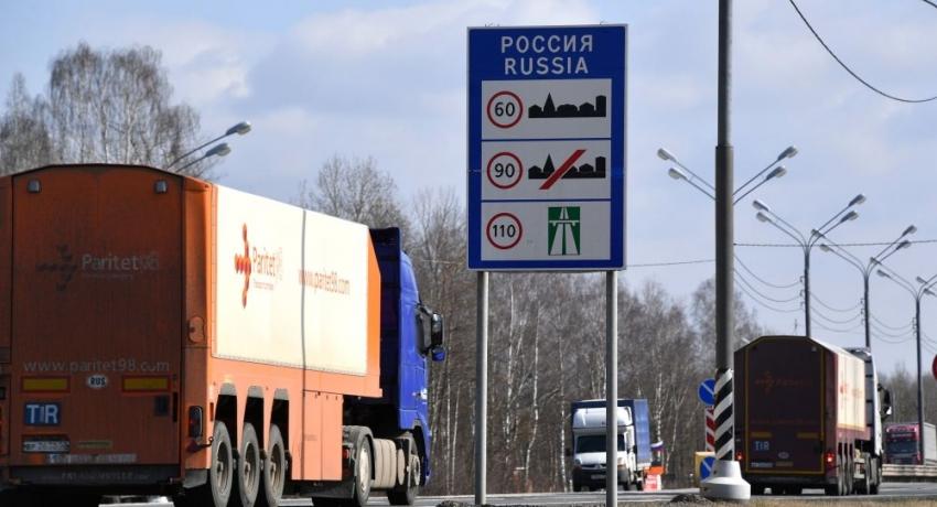Россия ограничит движение через границы с 30 марта