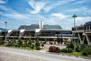 Аэропорт Сочи временно прекратил принимать рейсы