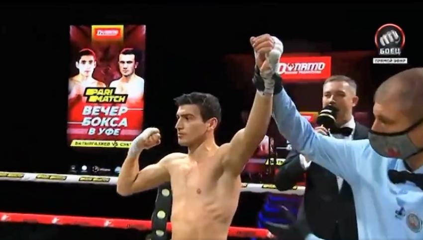 Харитон Агрба одержал досрочную победу на вечере бокса, приуроченного ко Дню Республики Башкортостан