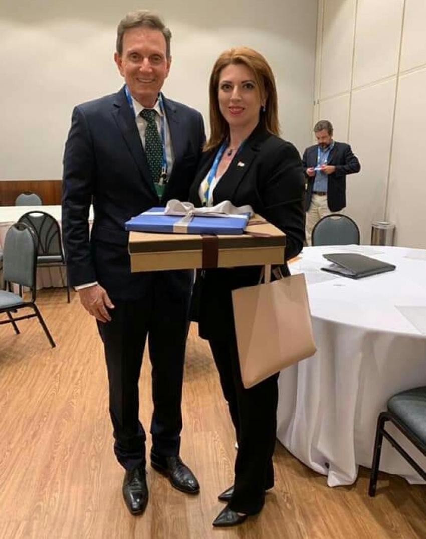 Президент ТПП Абхазии встретилась с мэром Рио-де-Жанейро