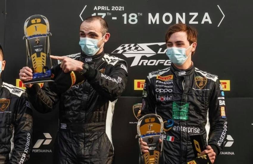 Дмитрий Гвазава стал победителем гонки нового сезона чемпионата «Lamborghini Super Trofeo-2021»
