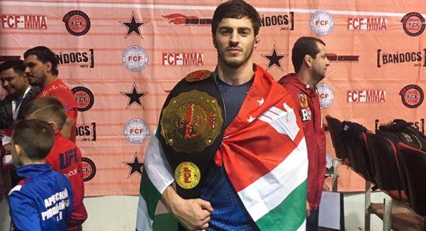 Спортсмен из Абхазии стал чемпионом мира по смешанным единоборствам