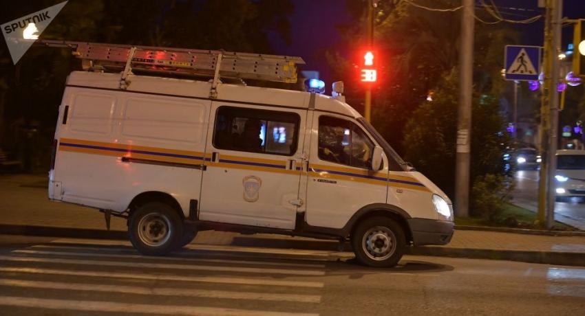 МЧС подтвердило, что в сгоревшей гостинице в Гудауте обнаружены два погибших ребенка