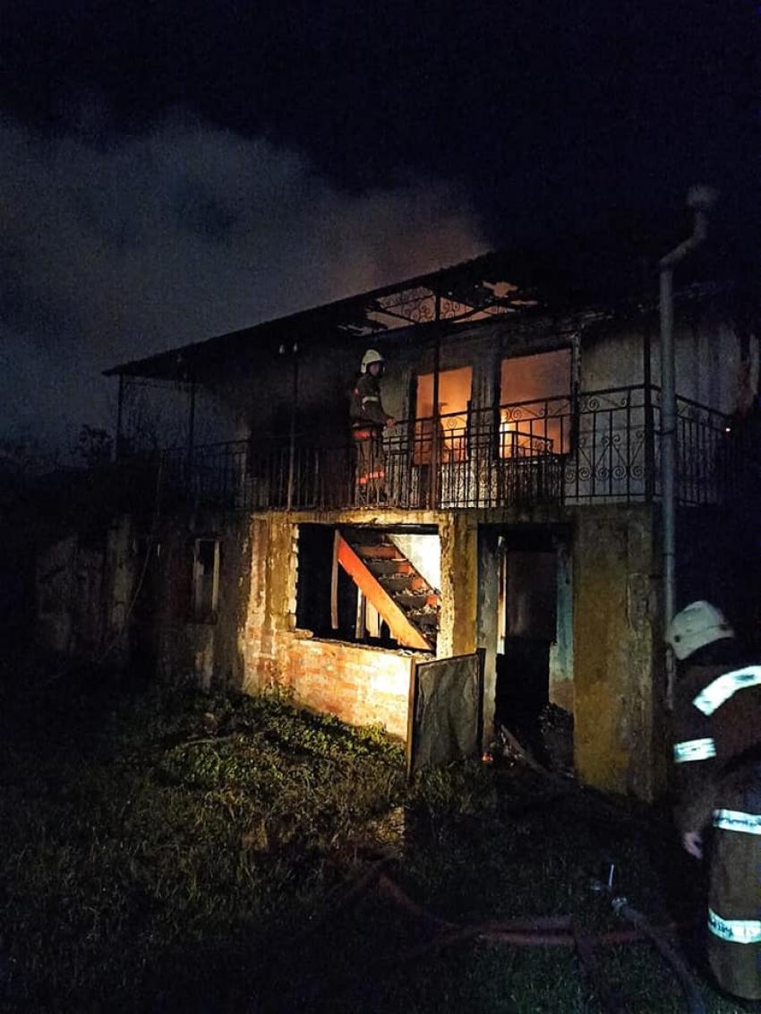 Мужчина погиб в результате пожара в частном доме в Дранде