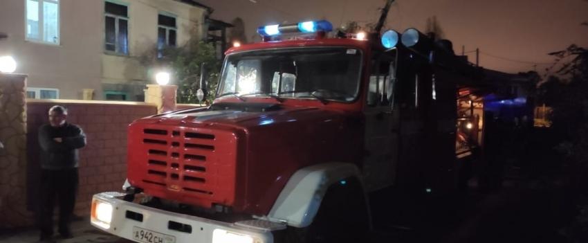 Накануне вечером произошел пожар в Сухуме