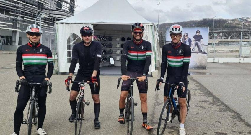 Спортсмены из Абхазии финишировали с лидерами на велогонке в Сочи