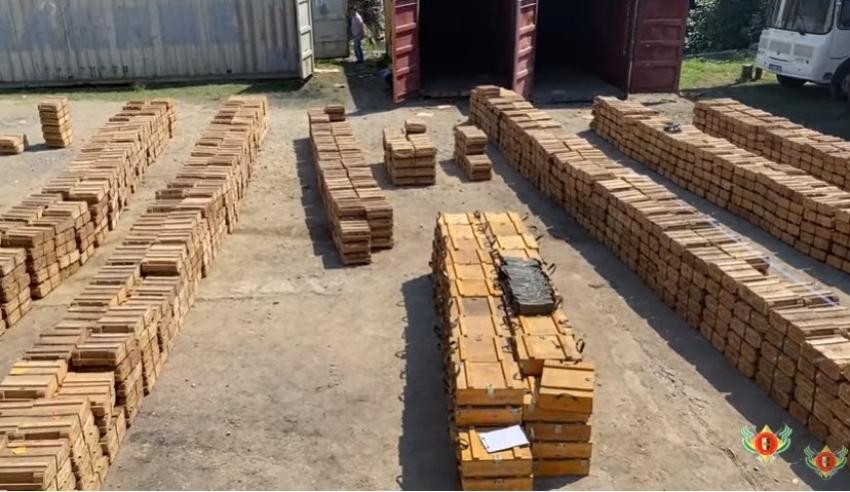 Оперативная сводка МВД РА 25.07.2020. В Сухуме обнаружены более двух миллионов патронов