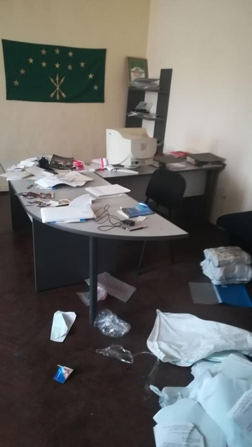 """Ограблен офис общественной организации """"Аруаа"""" в Сухуме"""